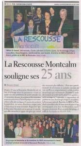 25 ans de La Rescousse Montcalm